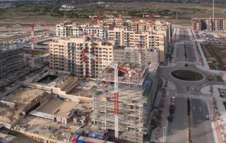 La construcción lidera la recuperación laboral