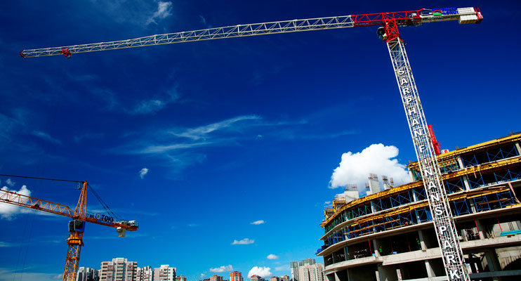 incremento actividad construccion españa