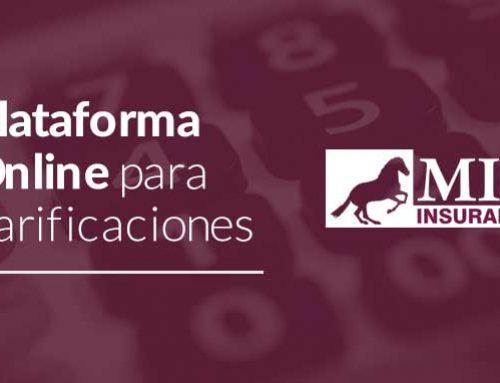 Nueva plataforma online para tarificaciones MIC Insurance